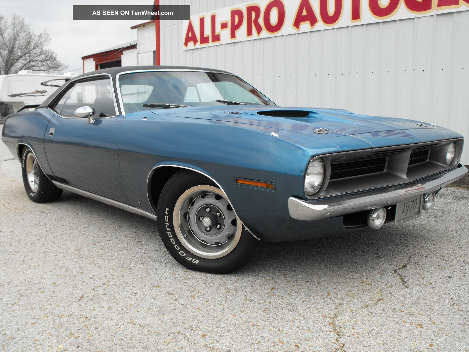 1970 Cuda 340 4 Speed Numbers Matching Barracuda photo