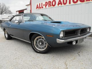 1970 Cuda 340 4 Speed Numbers Matching photo