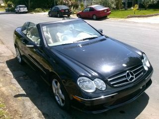 2005 Mercedes - Benz Clk500 Sport Convertible 2 - Door 5.  0l photo