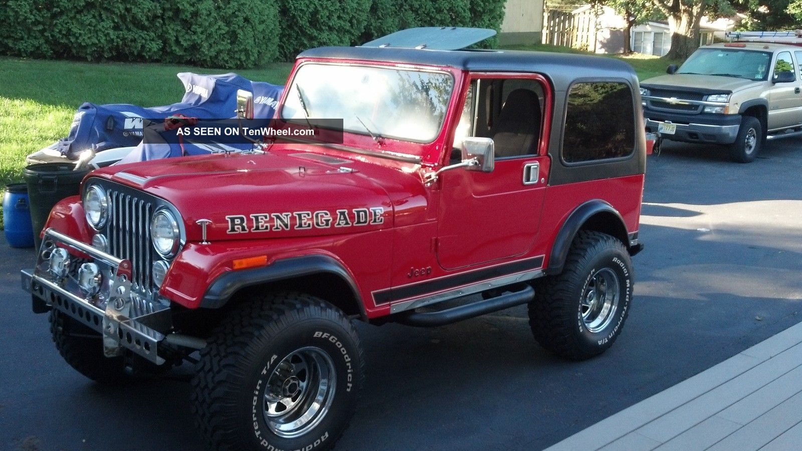 1980 Jeep Cj7 Renegade Chevy 350 Conversion