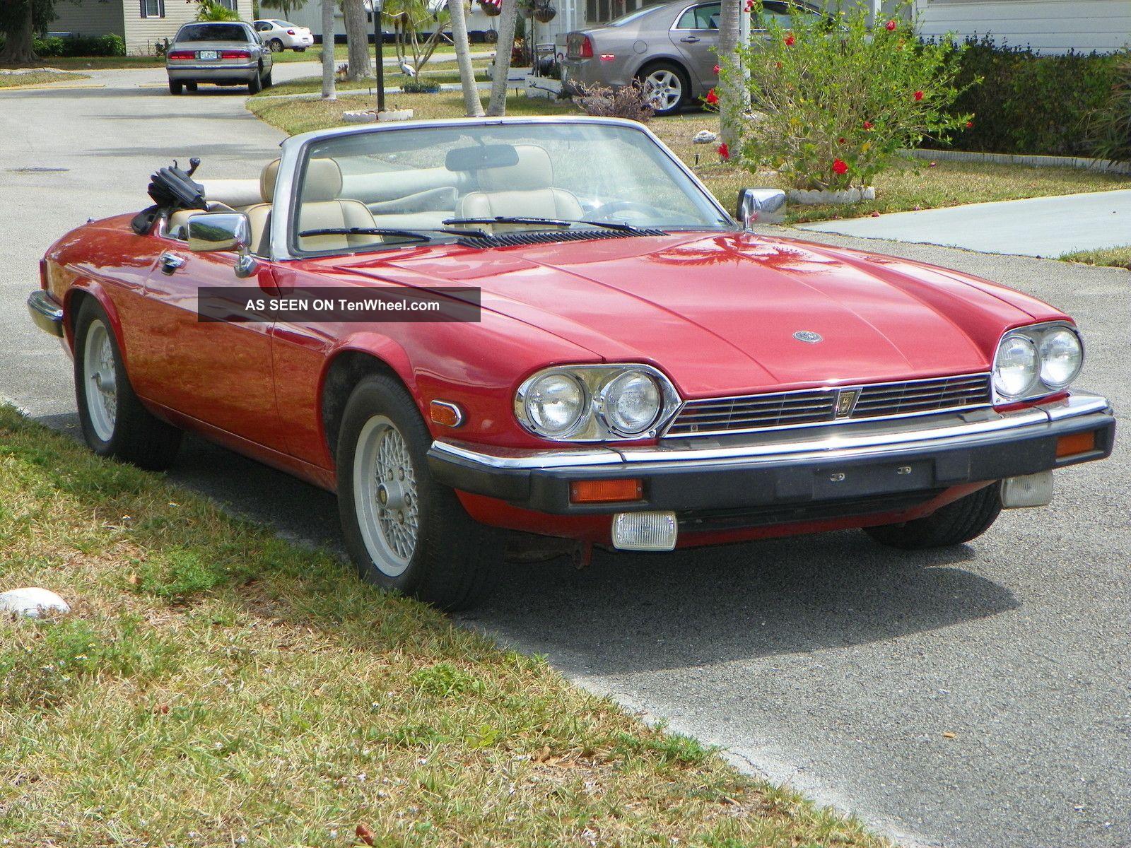 1989 Jaguar Xjs Base Convertible 2 Door 5 3l