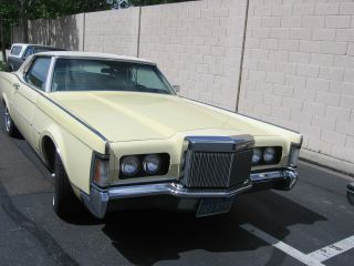 Lincoln Continental Mark Iii 1970 photo