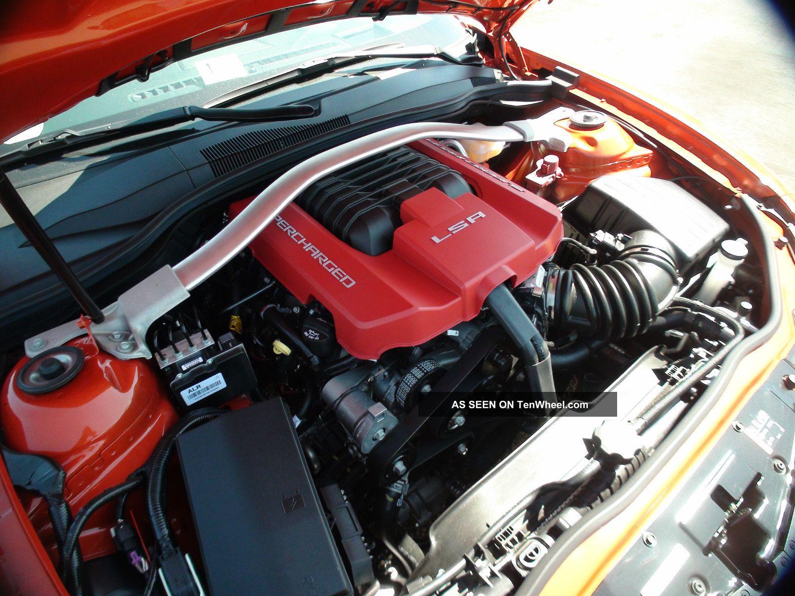 2013 Chevrolet Camaro Zl1 Convertible Auto Trans