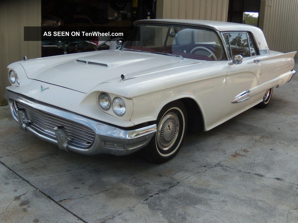 1959 Ford Thunderbird - Florida Car - Driven Daily - Drives Nicely,  Looks Good Thunderbird photo