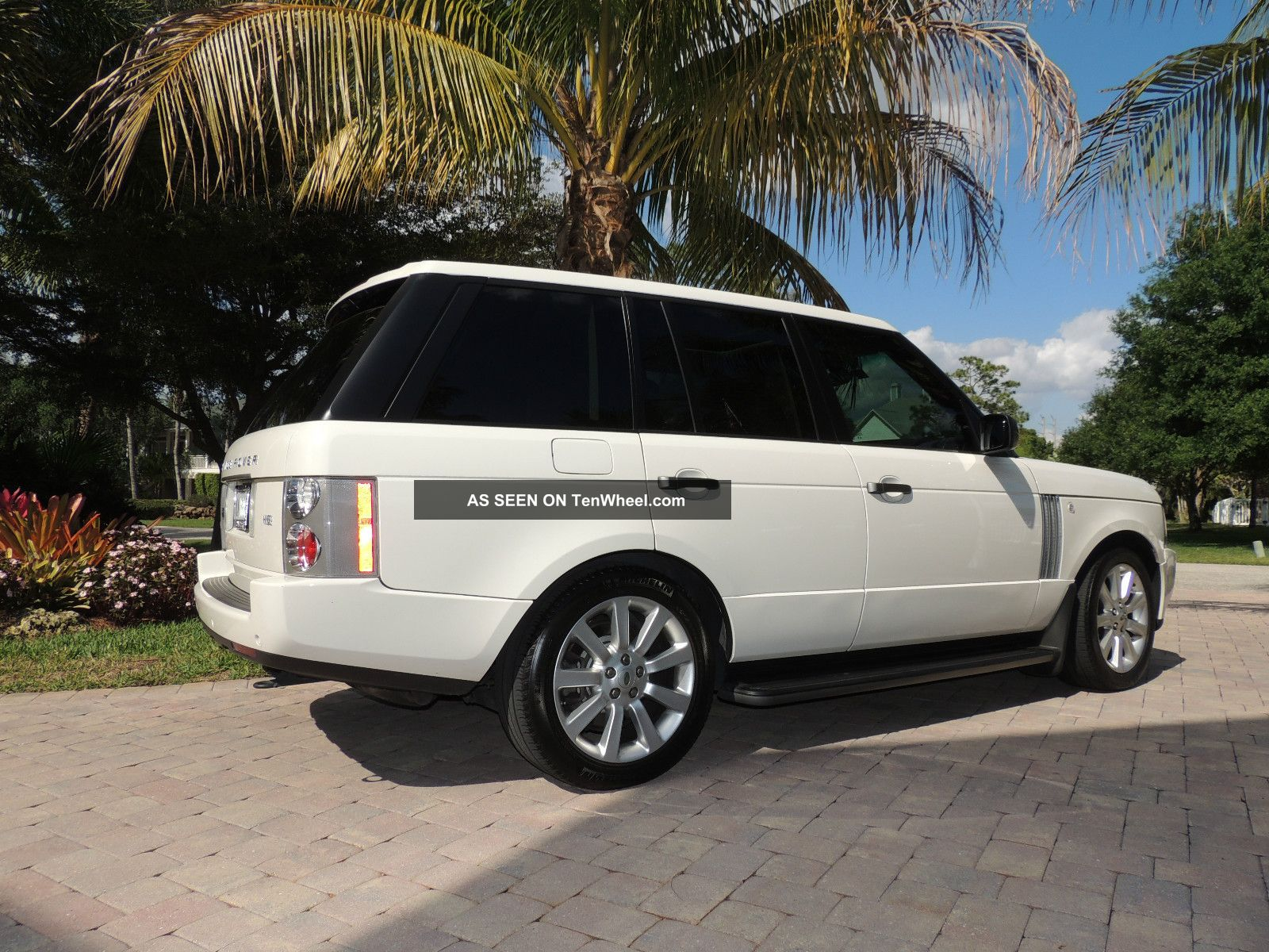 2009 land rover range rover hse lux pkg garage kept. Black Bedroom Furniture Sets. Home Design Ideas