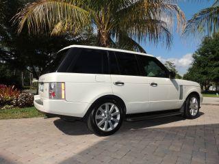 2009 Land Rover Range Rover Hse Lux Pkg Garage Kept photo