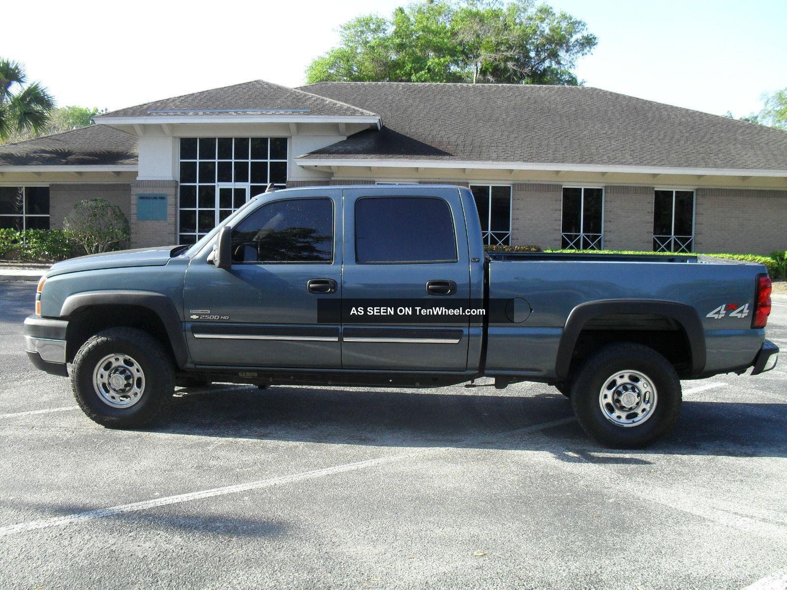 chevrolet silverado  hd lt crew cab pickup  door