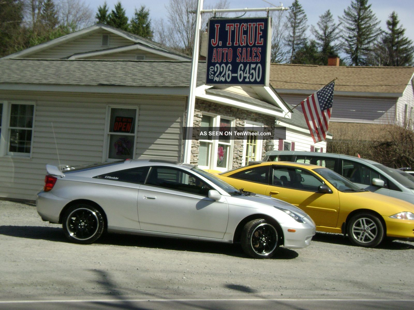 2000 toyota celica gts 6 speed hatchback 2 door 1 8l. Black Bedroom Furniture Sets. Home Design Ideas