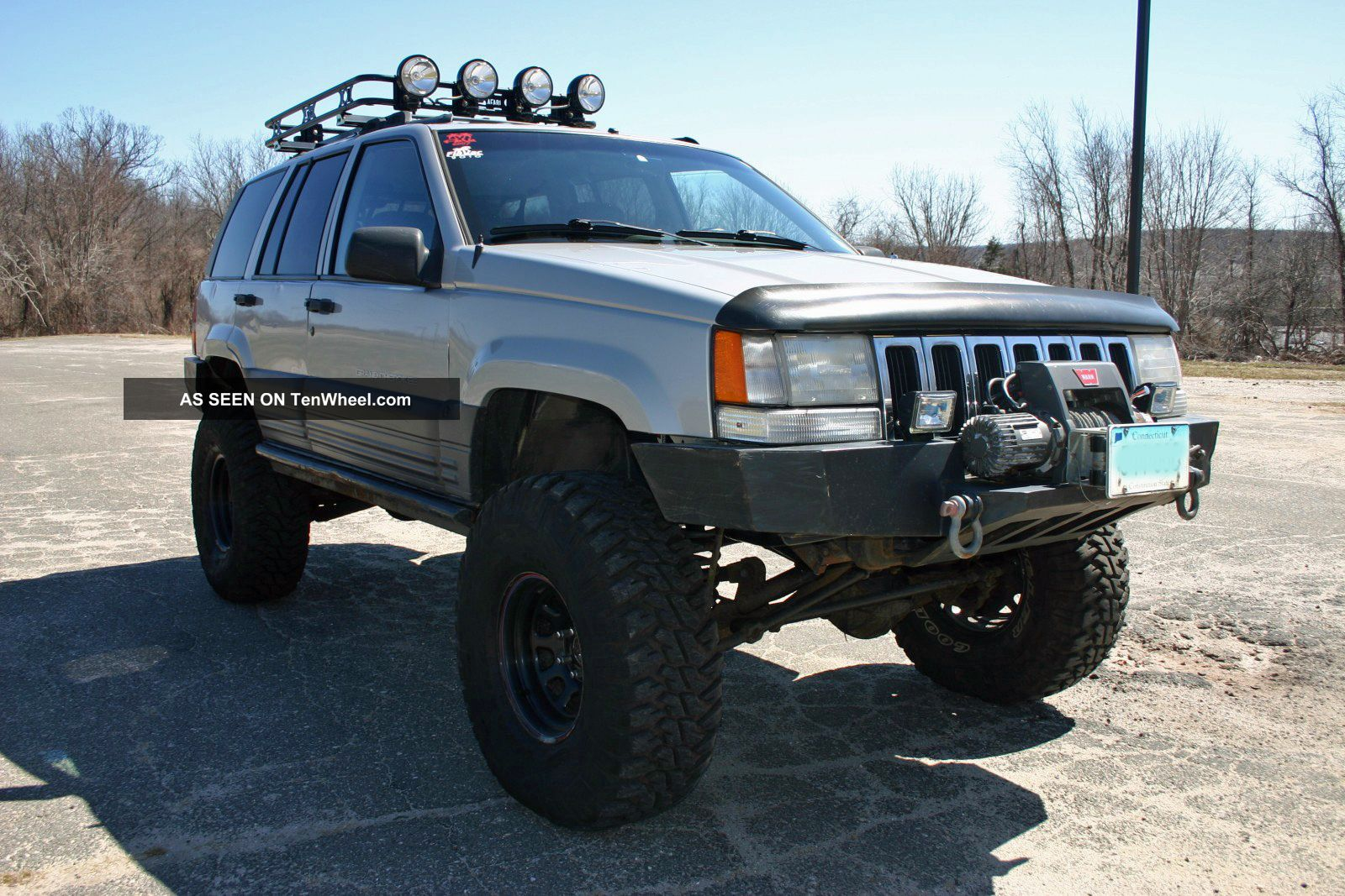 1996 jeep grand cherokee laredo lifted with atlas 2 off road trail ready. Black Bedroom Furniture Sets. Home Design Ideas