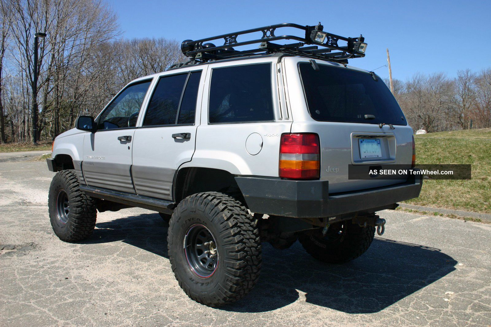 1996 Jeep Grand Cherokee Laredo Lifted With Atlas 2 Off Road U2013 Trail Ready