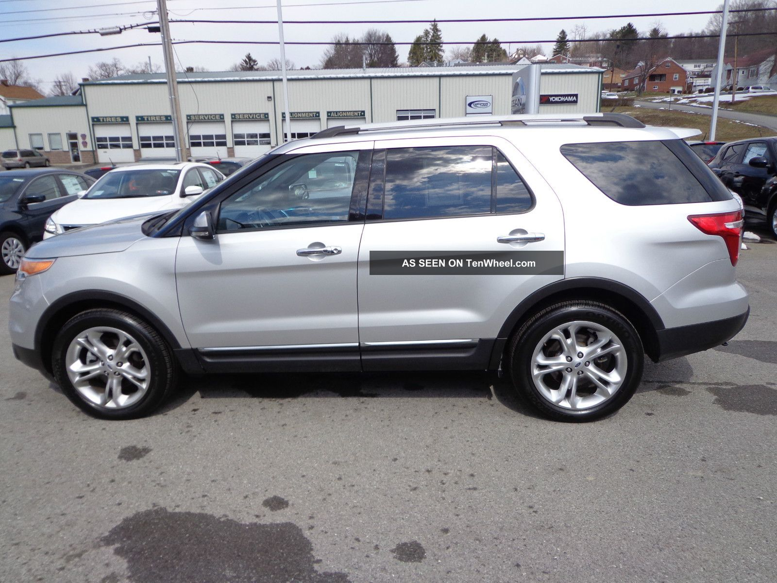 2012 Ford Explorer Limited V6 4wd Rear Camera 3rd Row