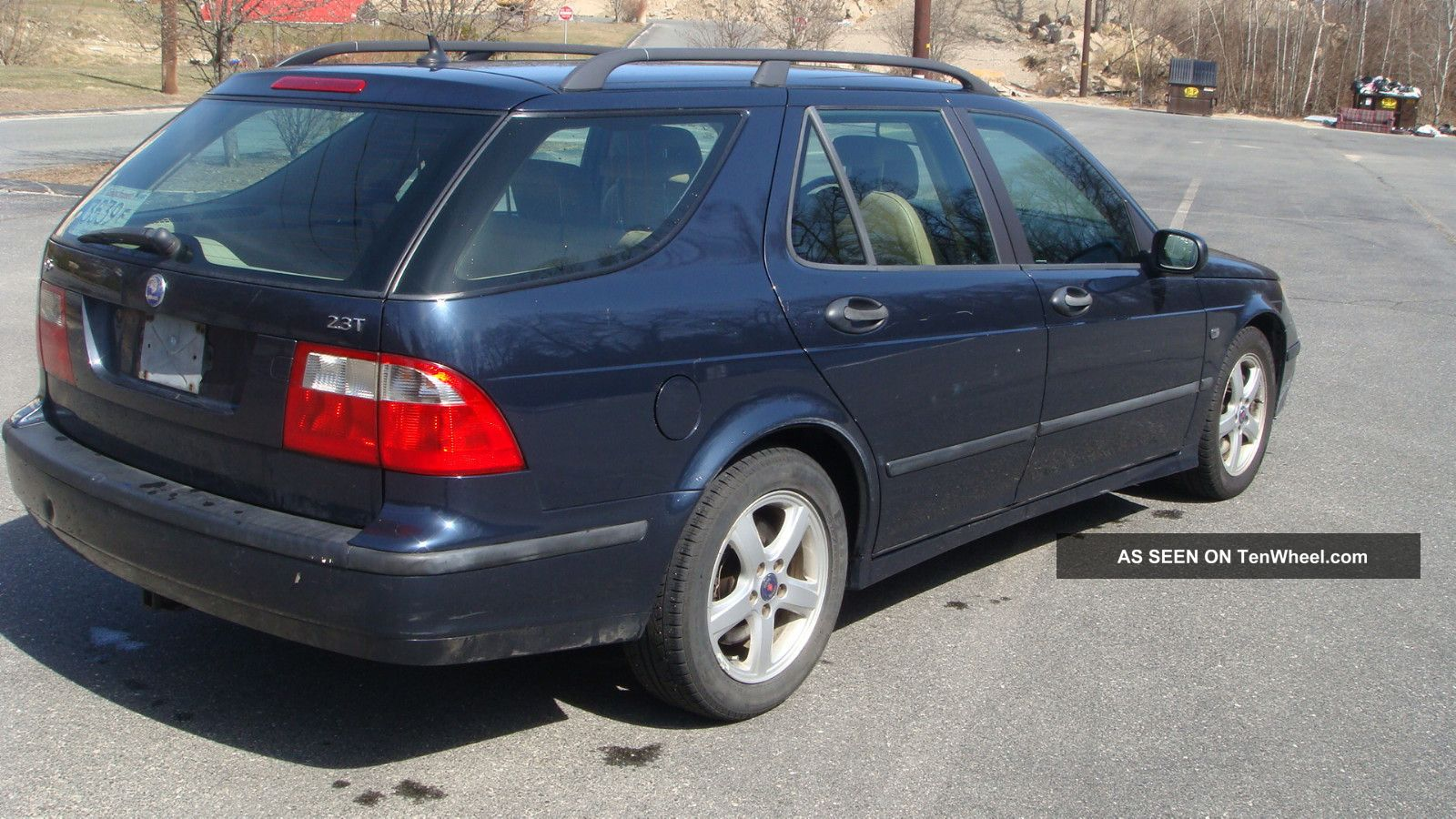 2004 saab 9 5 wagon 2 3l turbo loooks needs minor tlc. Black Bedroom Furniture Sets. Home Design Ideas