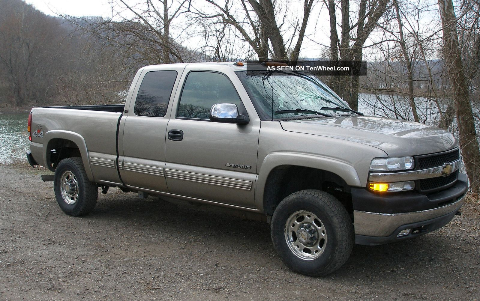 2001 Chevy Silverado Lt 2500hd 4wd Extended Cab - Loaded on