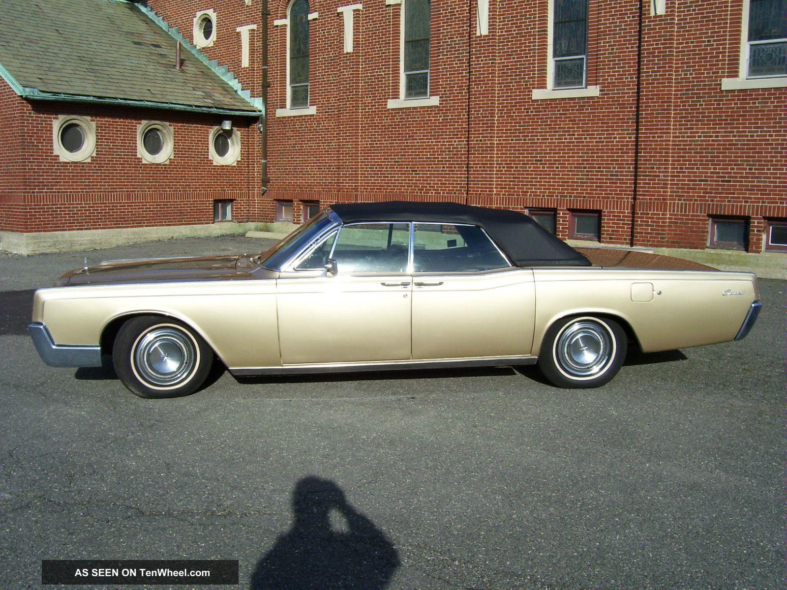 1967 Lincoln Continental Convertible Continental photo