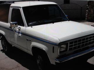 1987 Ford Bronco Ii Xlt 4 X4 - California Truck photo