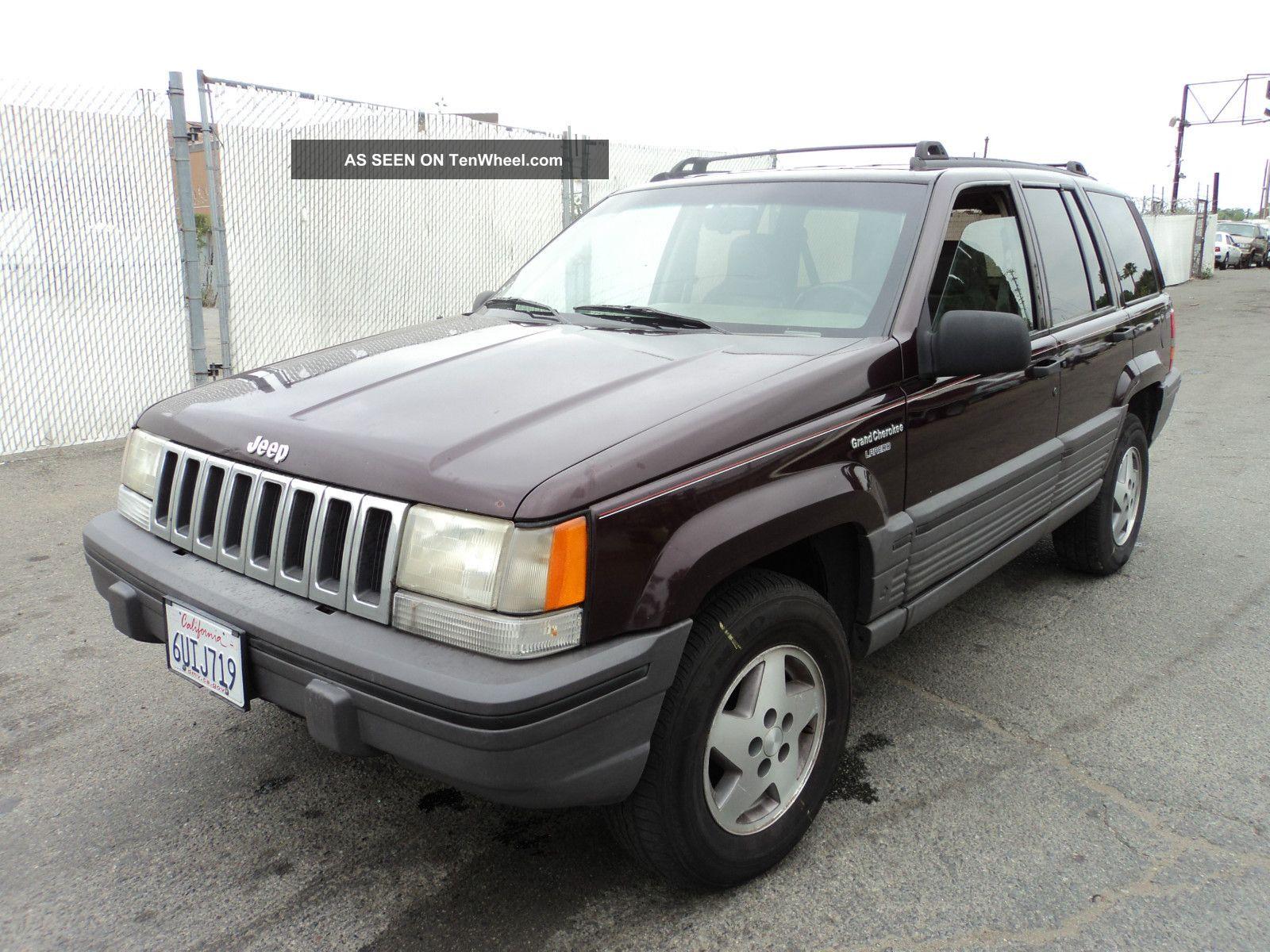 1993 Jeep Grand Cherokee Laredo Sport Utility 4 Door 5 2l