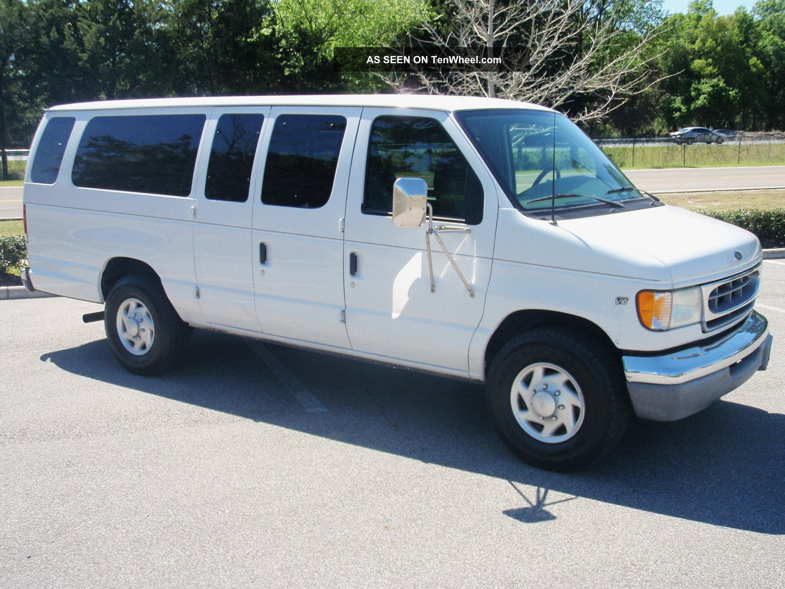 2002 ford e 350 15 passenger pass church van 1 one ton. Black Bedroom Furniture Sets. Home Design Ideas