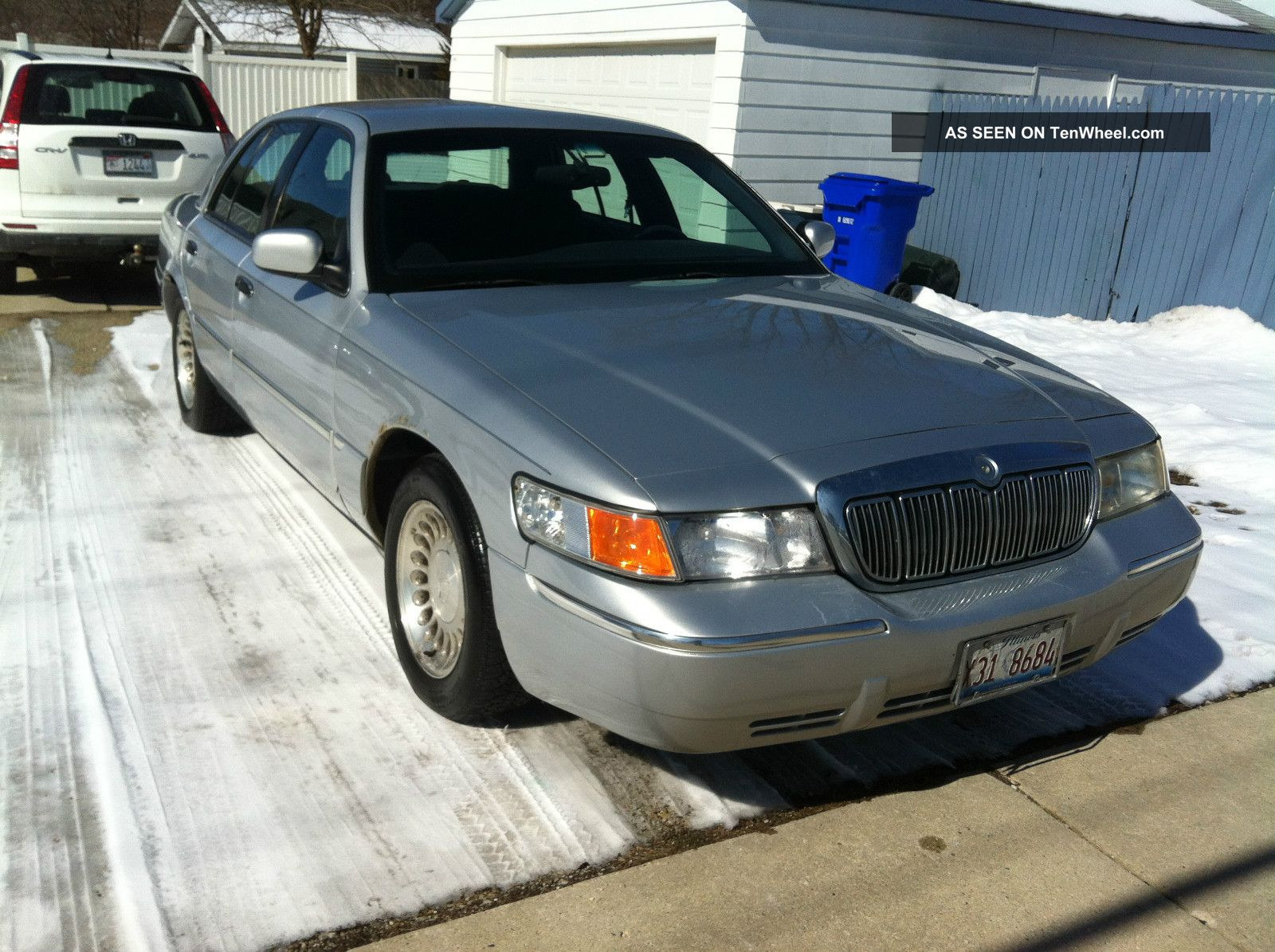 2000 Mercury Grand Marquis Ls Silver Great Runner,  Check Out Grand Marquis photo