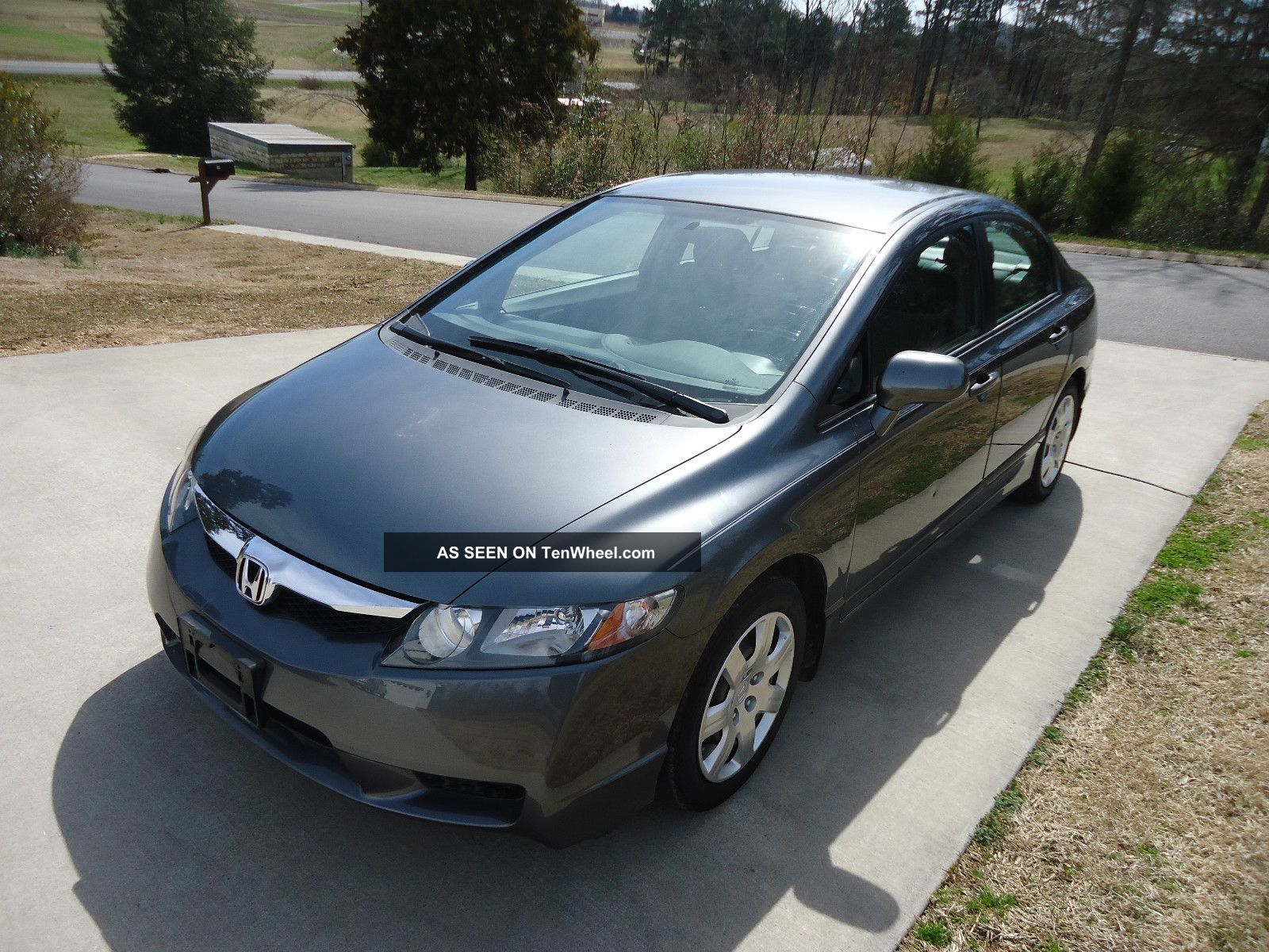 2009 honda civic lx sedan 4 door 1 8l