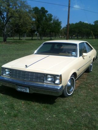 1978 Buick Century Custom Coupe 2 - Door 3.  2l photo