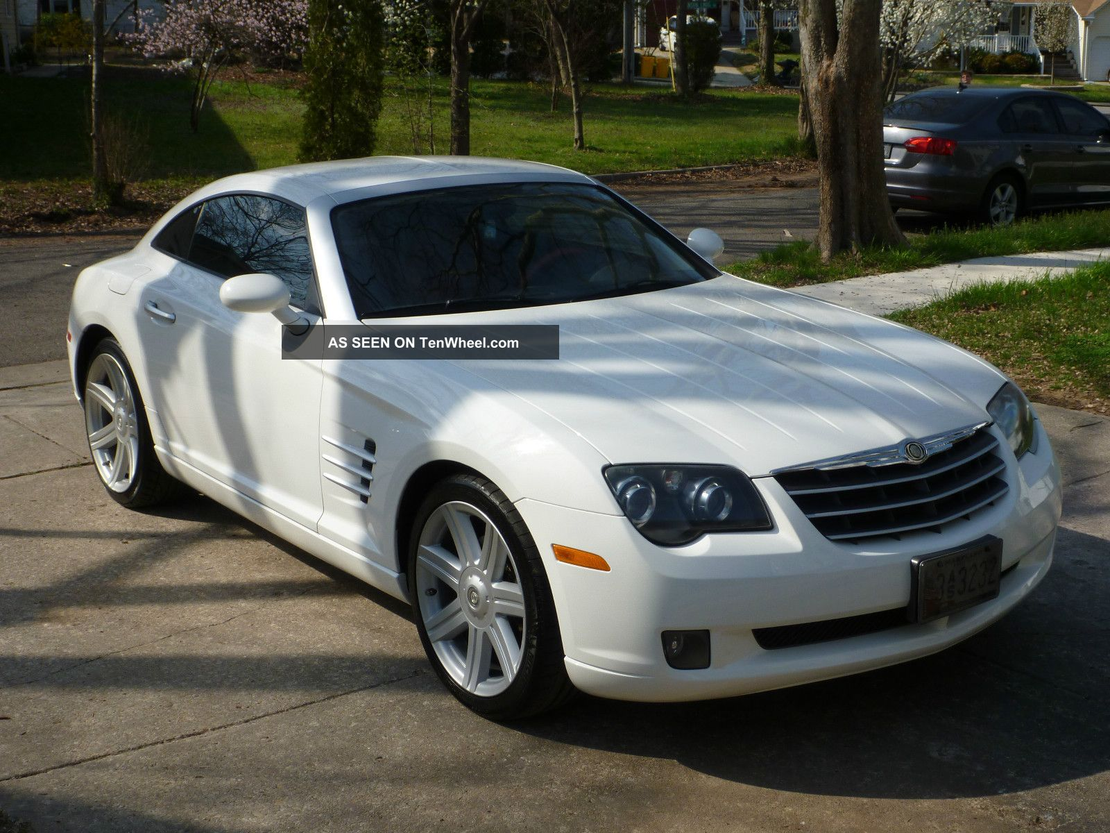 2004 chrysler crossfire 2s white 88k car automatic nr. Black Bedroom Furniture Sets. Home Design Ideas