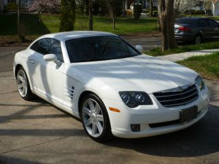 2004 Chrysler Crossfire 2s White 88k Car Automatic Nr photo