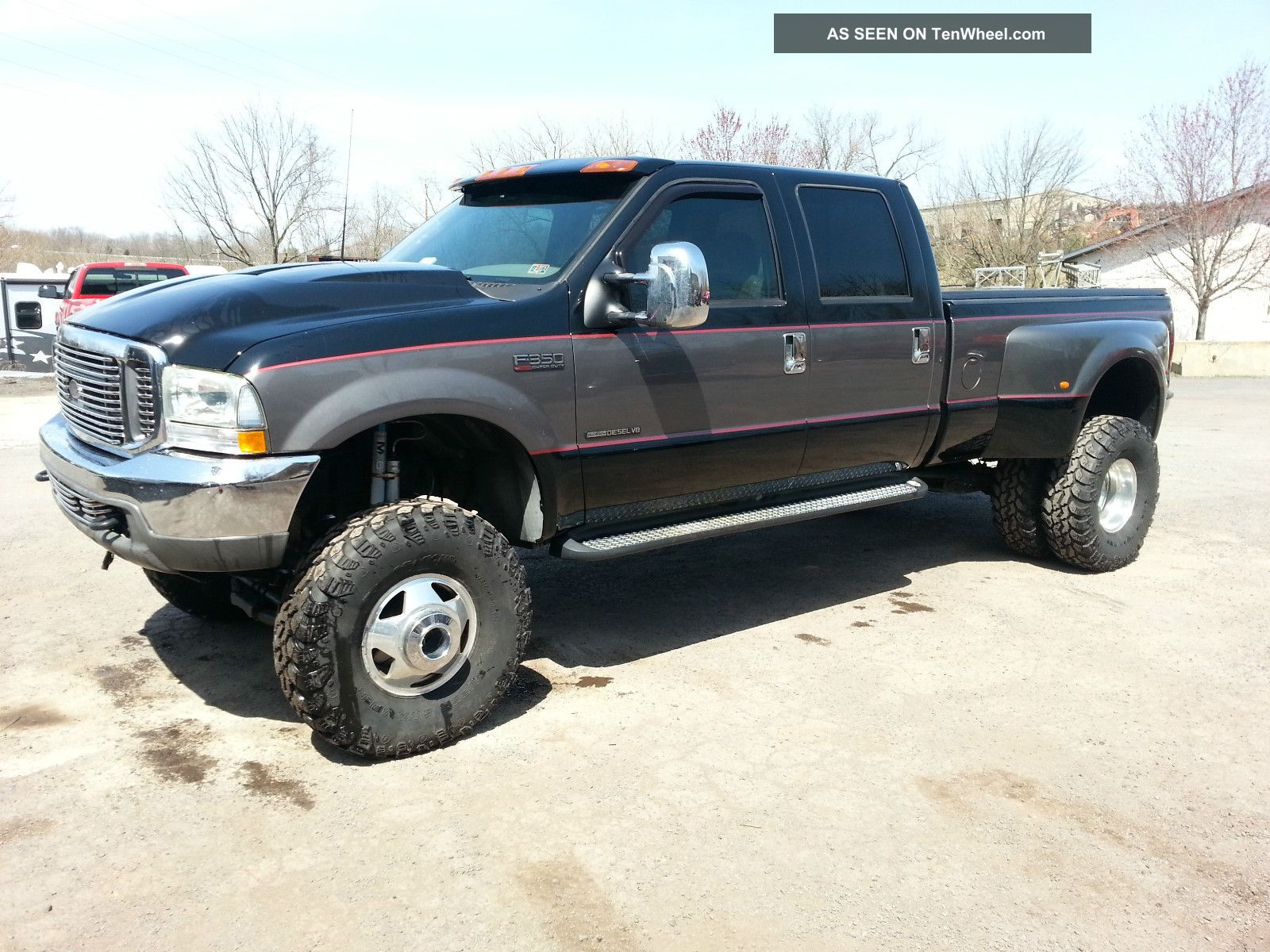 2003 Ford F350 7  3l 4x4 Drw  Lifted  Lariat Le