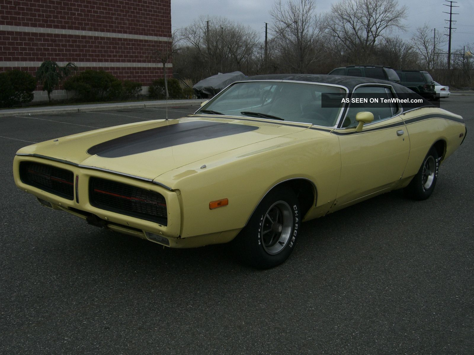 1972 Dodge Charger Hardtop Se 400 Air Condition Number