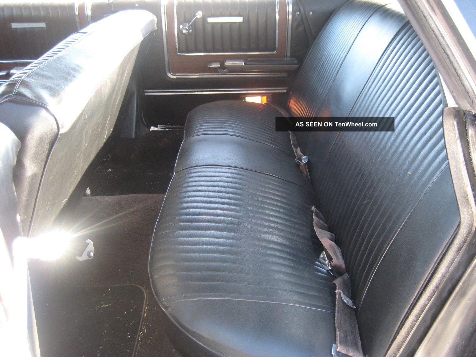 1965 Ford Galaxie 500 Ltd With 428ci Fe Engine