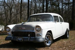 1955 Chevrolet 2 Door 2 S Chevy 210 Bel Air Hot Rod photo