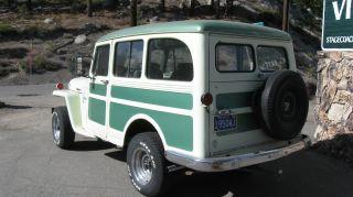 1950 Willys Jeep Station Wagon photo