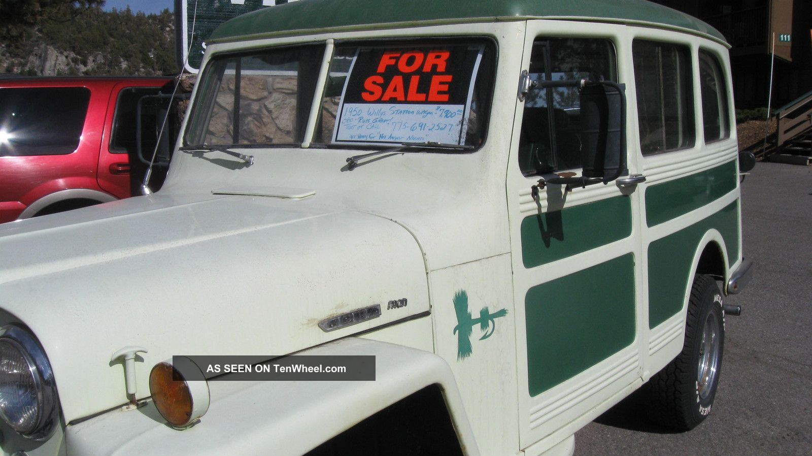 1950 Willys Jeep Station Wagon Pick Up