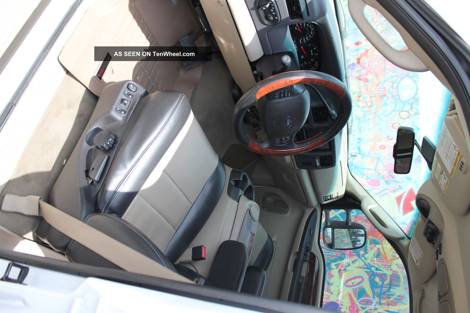 2005 ford excursion eddie bauer edition 6 0l turbo diesel 4wd interior for 2005 ford expedition eddie bauer interior