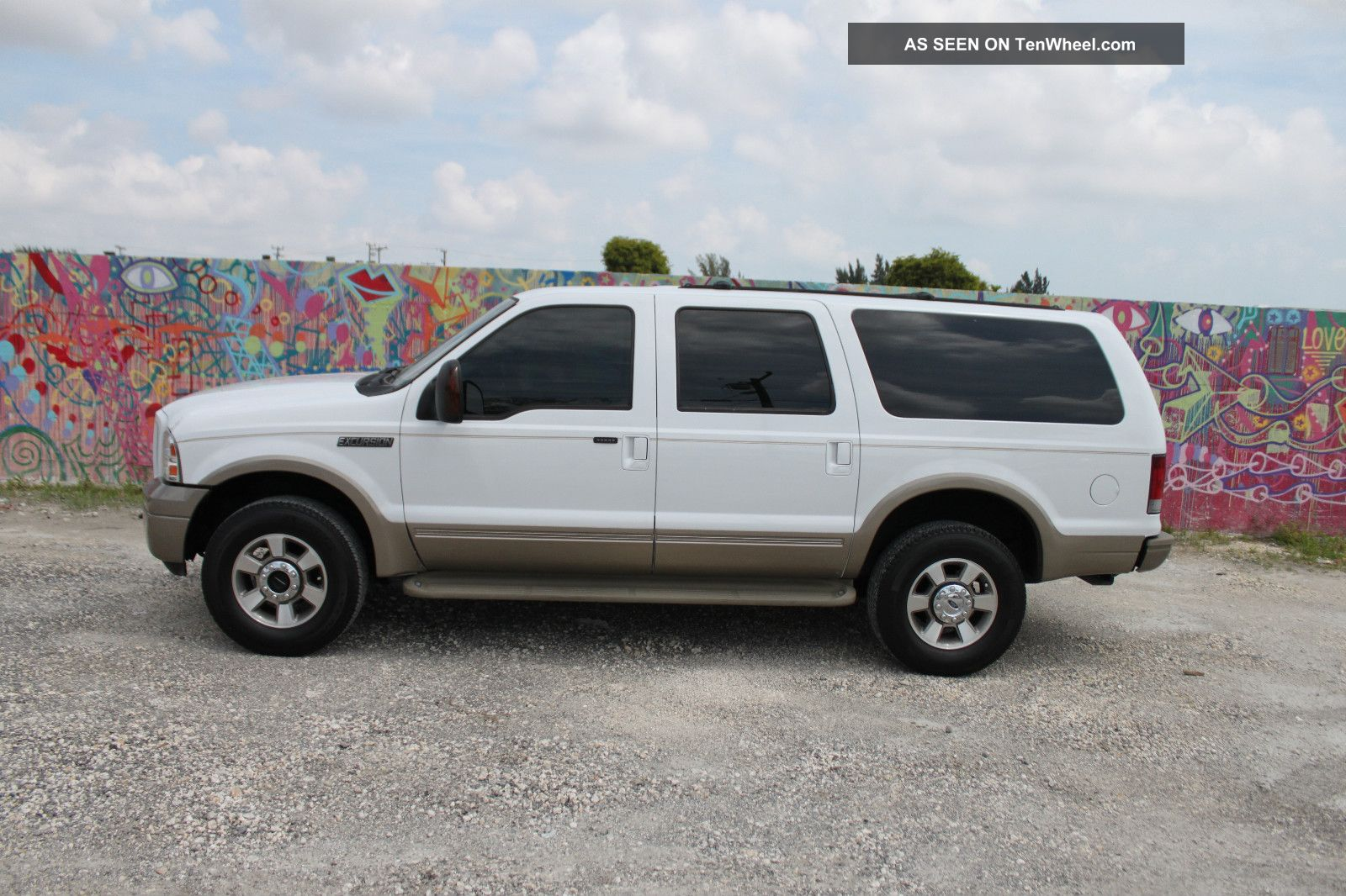 2005 Ford Excursion Eddie Bauer Edition 6 0l Turbo Diesel