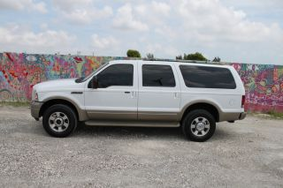 2005 Ford Excursion Eddie Bauer Edition 6.  0l Turbo Diesel 4wd Interior photo