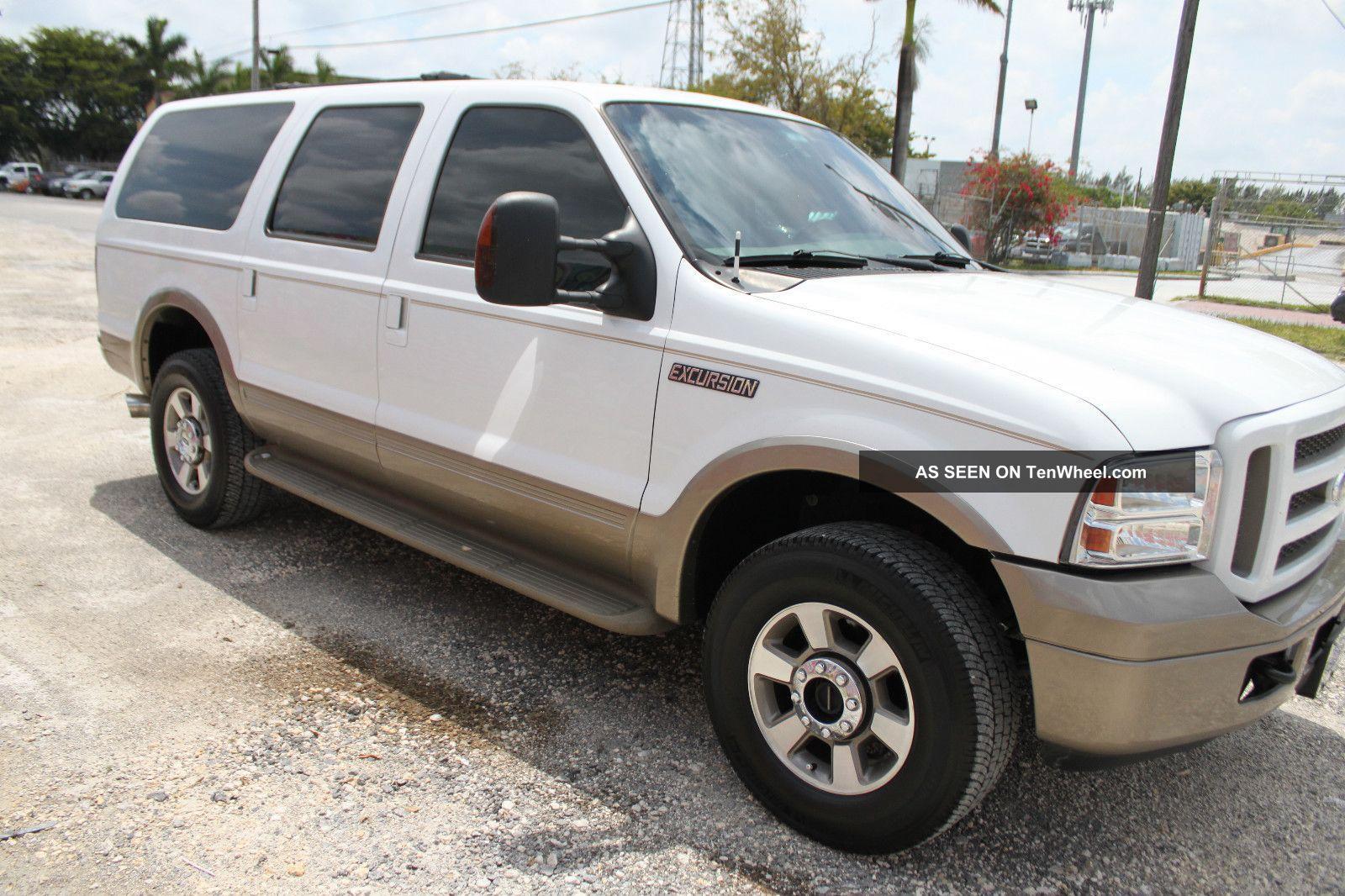 2005 Ford Excursion Eddie Bauer Edition 6 0l Turbo Diesel 4wd Interior