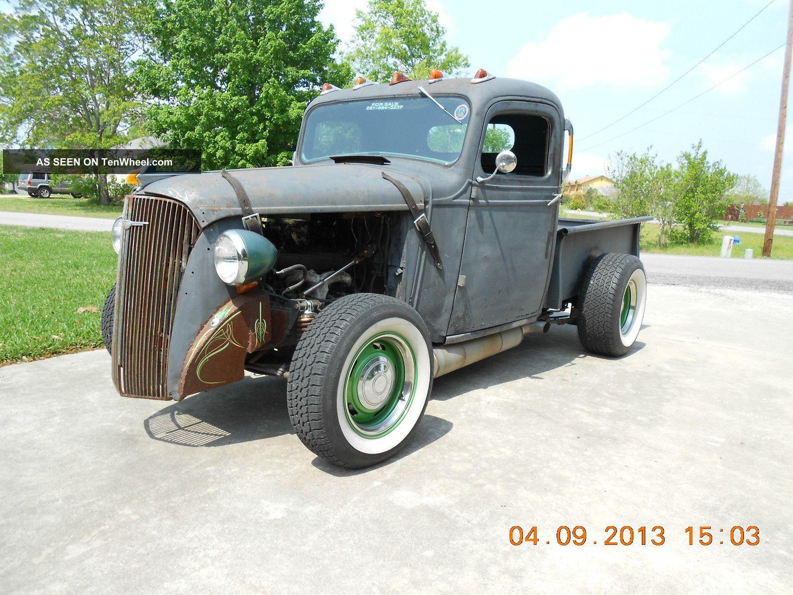 1937 Chevy Pick - Up Truck Rat Rod Hotrod