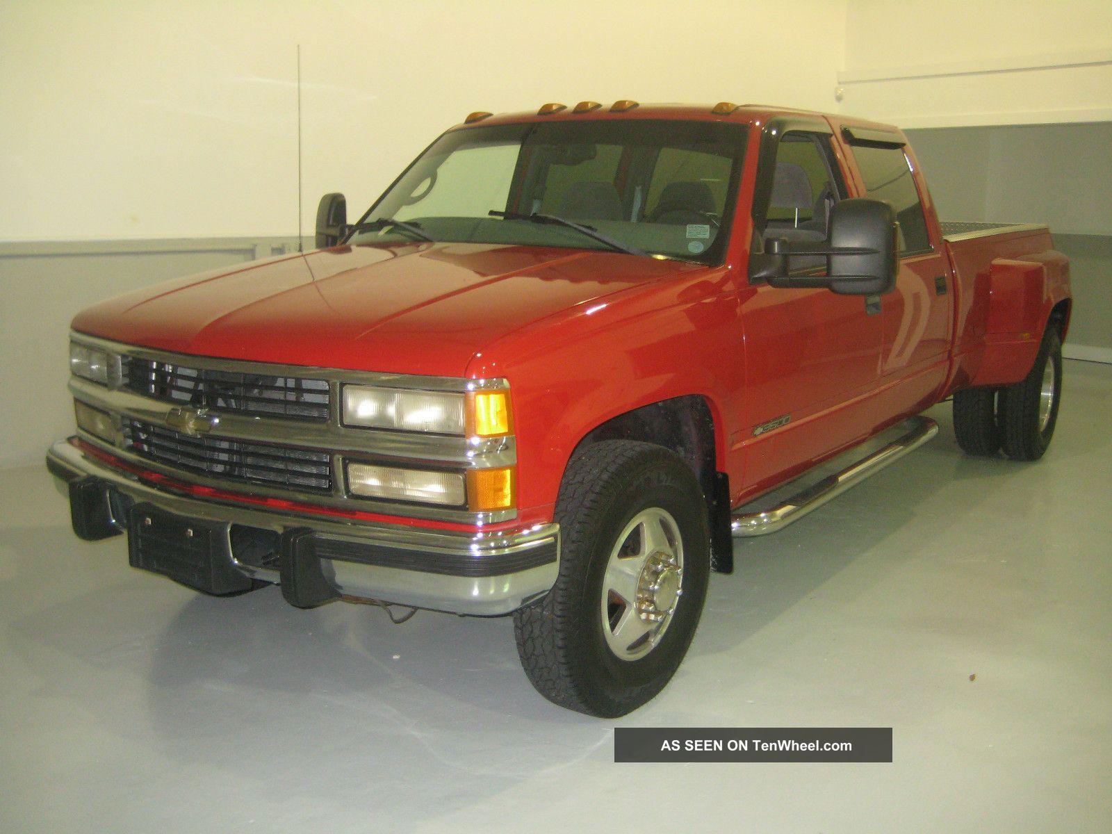 1998 Chevrolet 3500 Dually Diesel Crew Cab