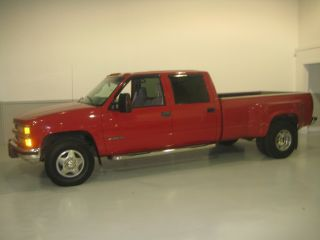 1998 Chevrolet 3500 Dually Diesel Crew Cab photo