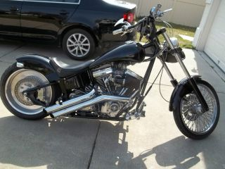2000 American Ironhorse Chopper Iron Horse Softail Custom Check It Out photo
