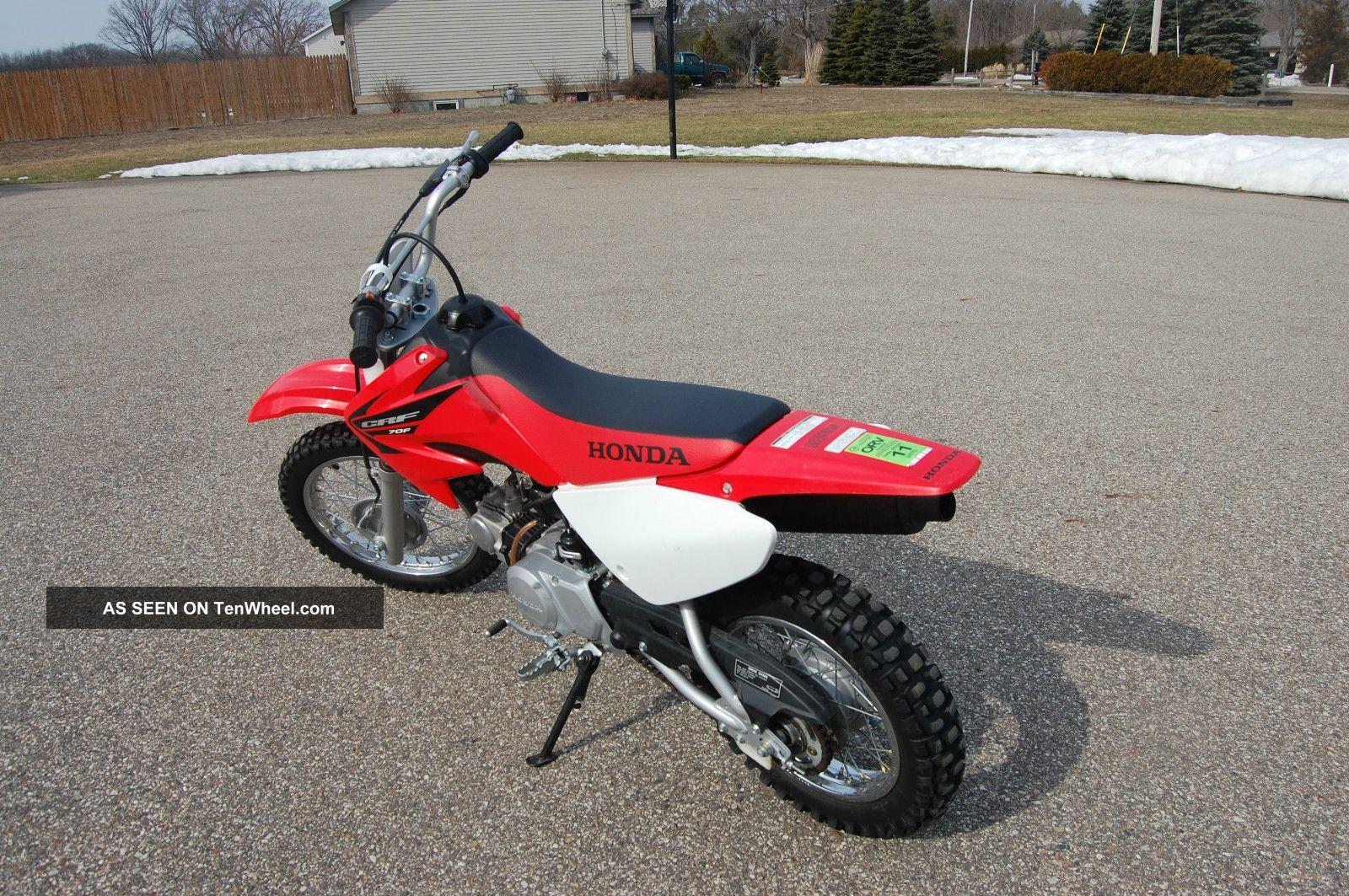 2005 honda crf 70 dirt bike condition same as xr 70 for Honda crf 70 specs