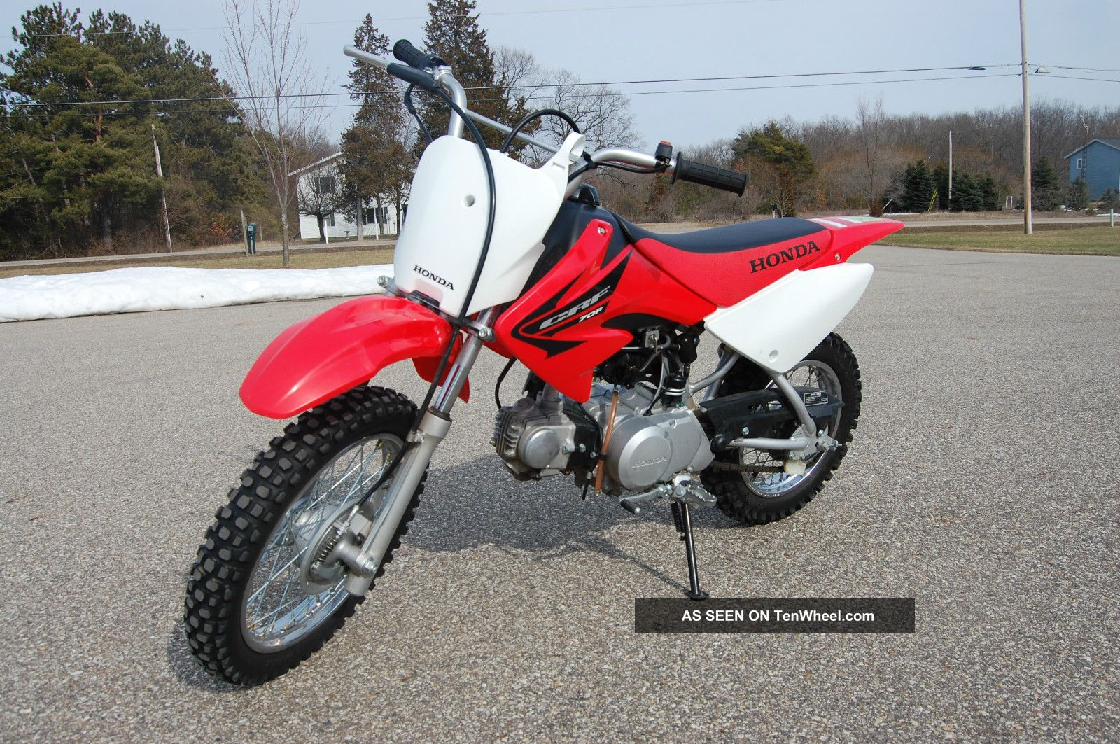 Honda Crf Dirt Bike Condition Same As Xr Lgw on Custom Honda Xr 125