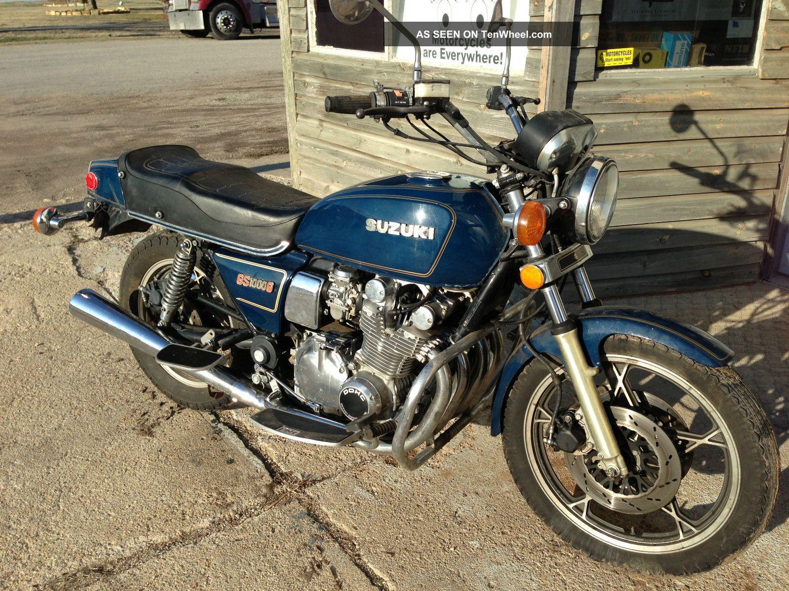 1980 suzuki gs1000 classic gs 1000g rare find vintage cafe gt750 gt