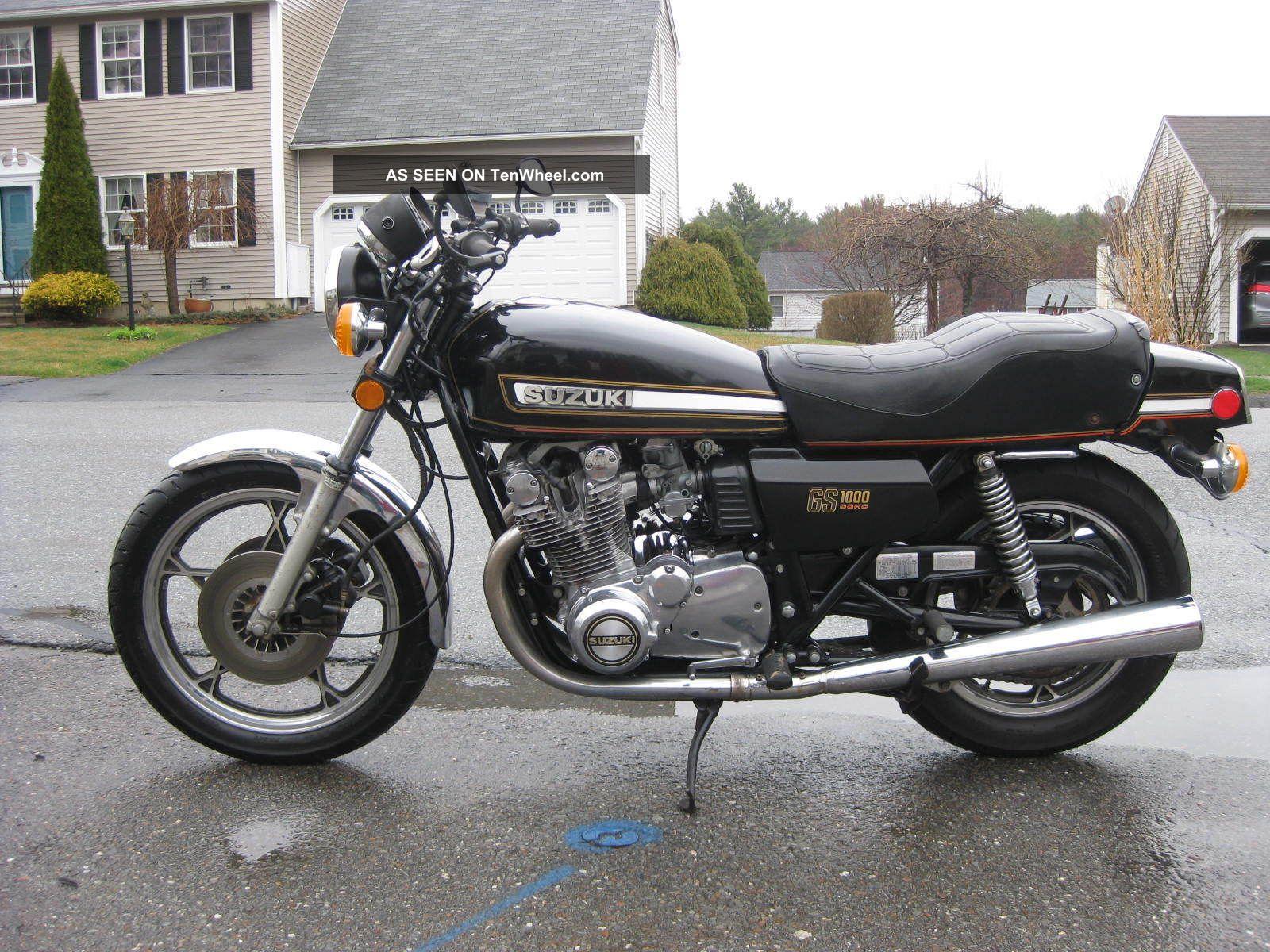1978 Suzuki Gs1000 Gs 1000 Gs1000e Es Kz Kz1000 Drag Superbike 1977 GS photo