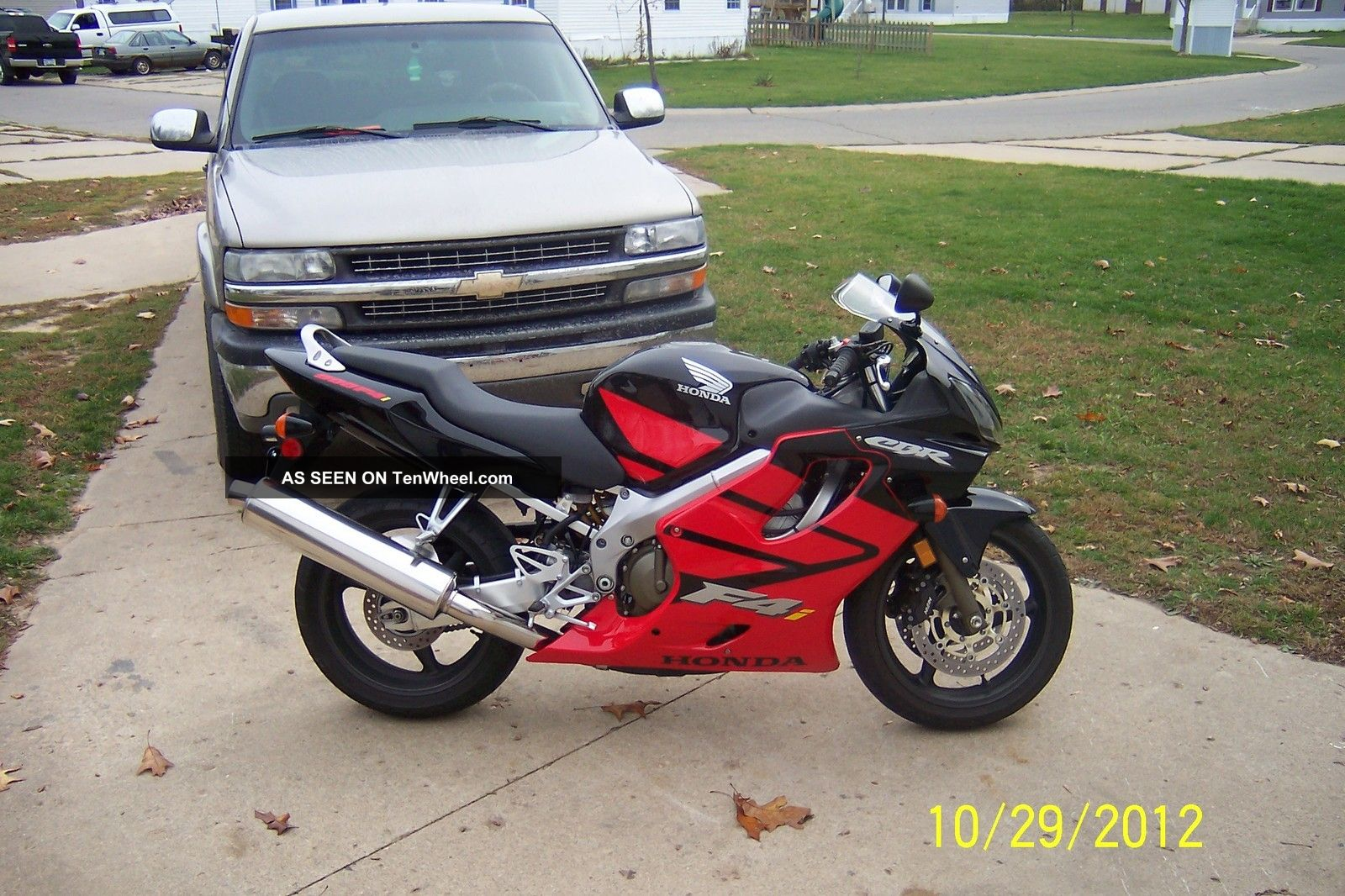 2004 Honda Cbr 600 F4i CBR photo