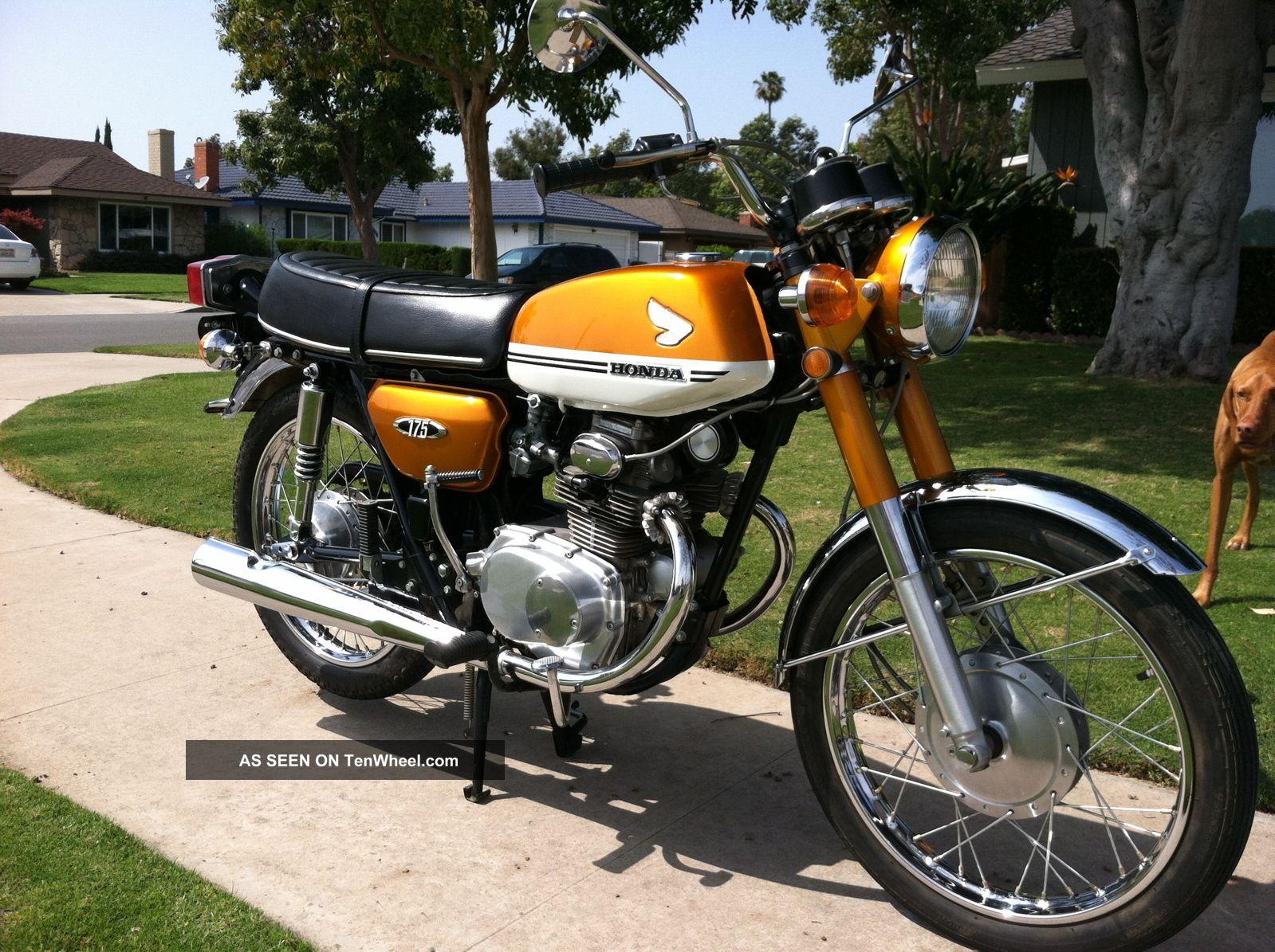 1971 Honda Cb175 Stock Vintage Classic Unrestored Cb Not A