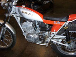 1975 Suzuki Rl250 / Street Legal Trials Bike / Mich Tires photo