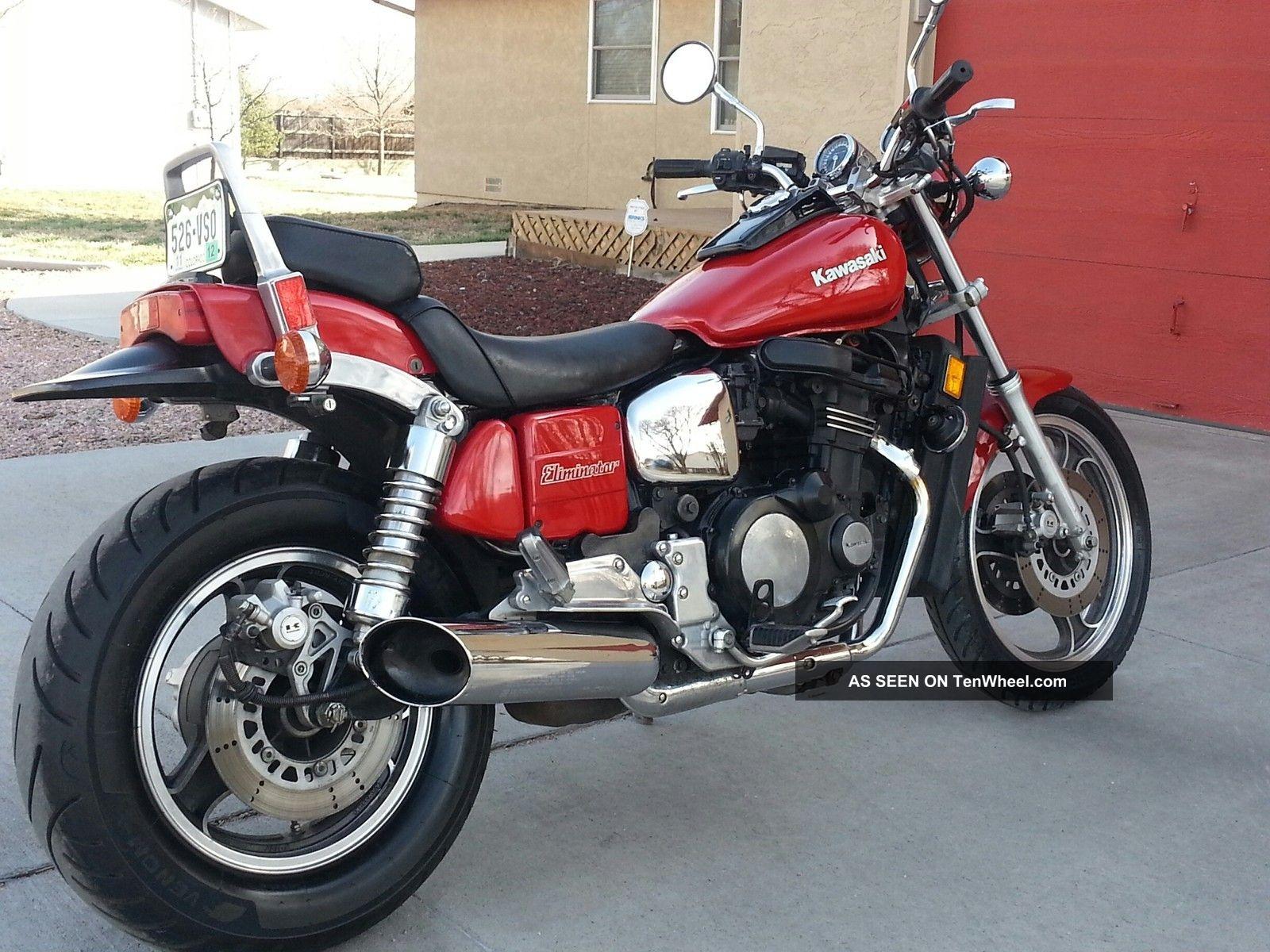 1985 Kawasaki Zl 900 Eliminator