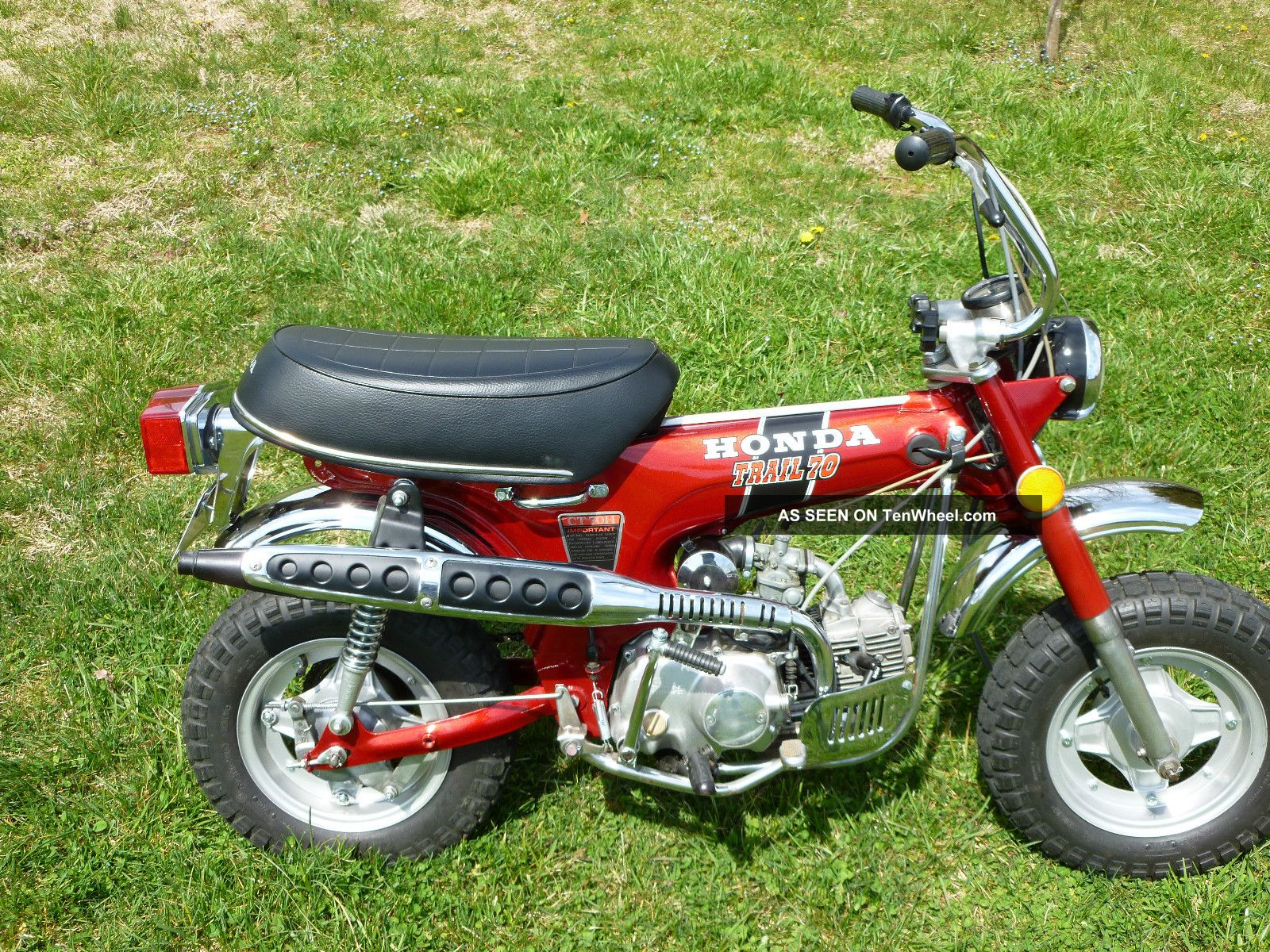 1972 honda ct70 h 4 speed for Honda in ct