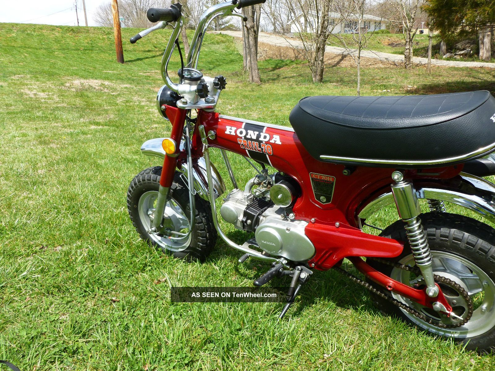 1972 Honda Ct70 H 4 Speed